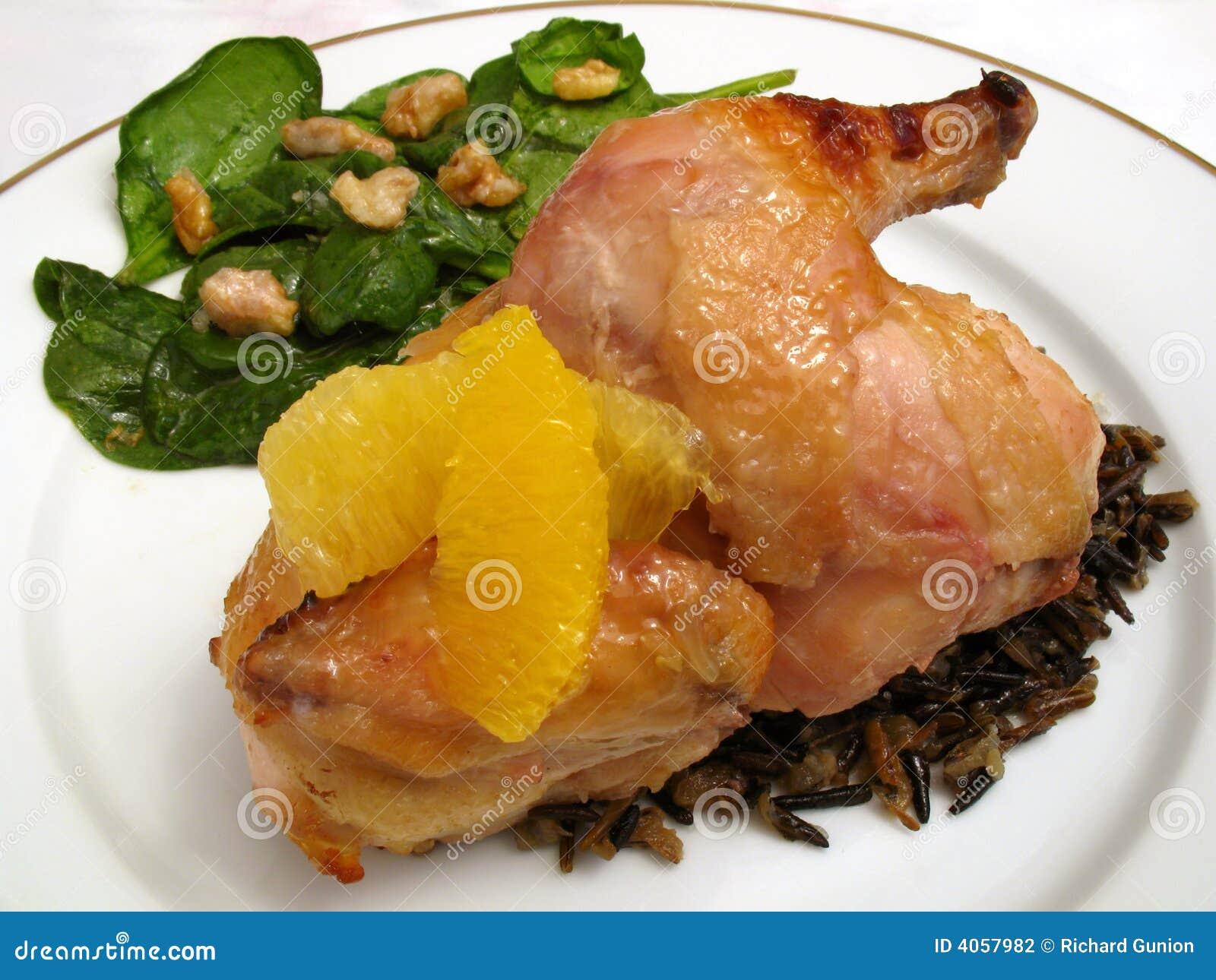 Glazed Cornish Game Hen