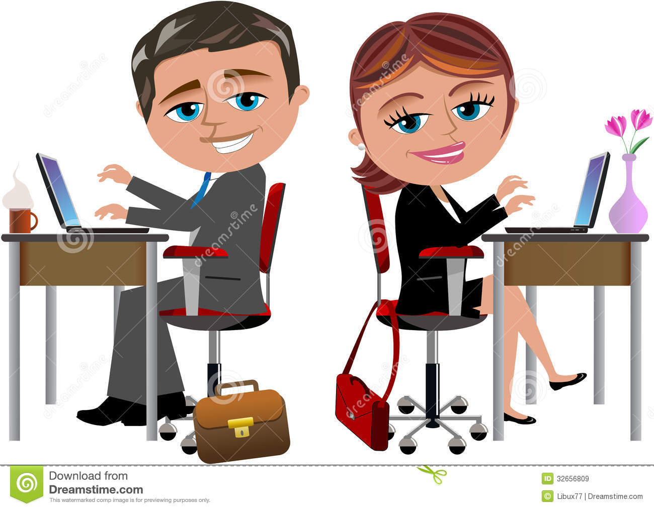 free clipart office worker - photo #28