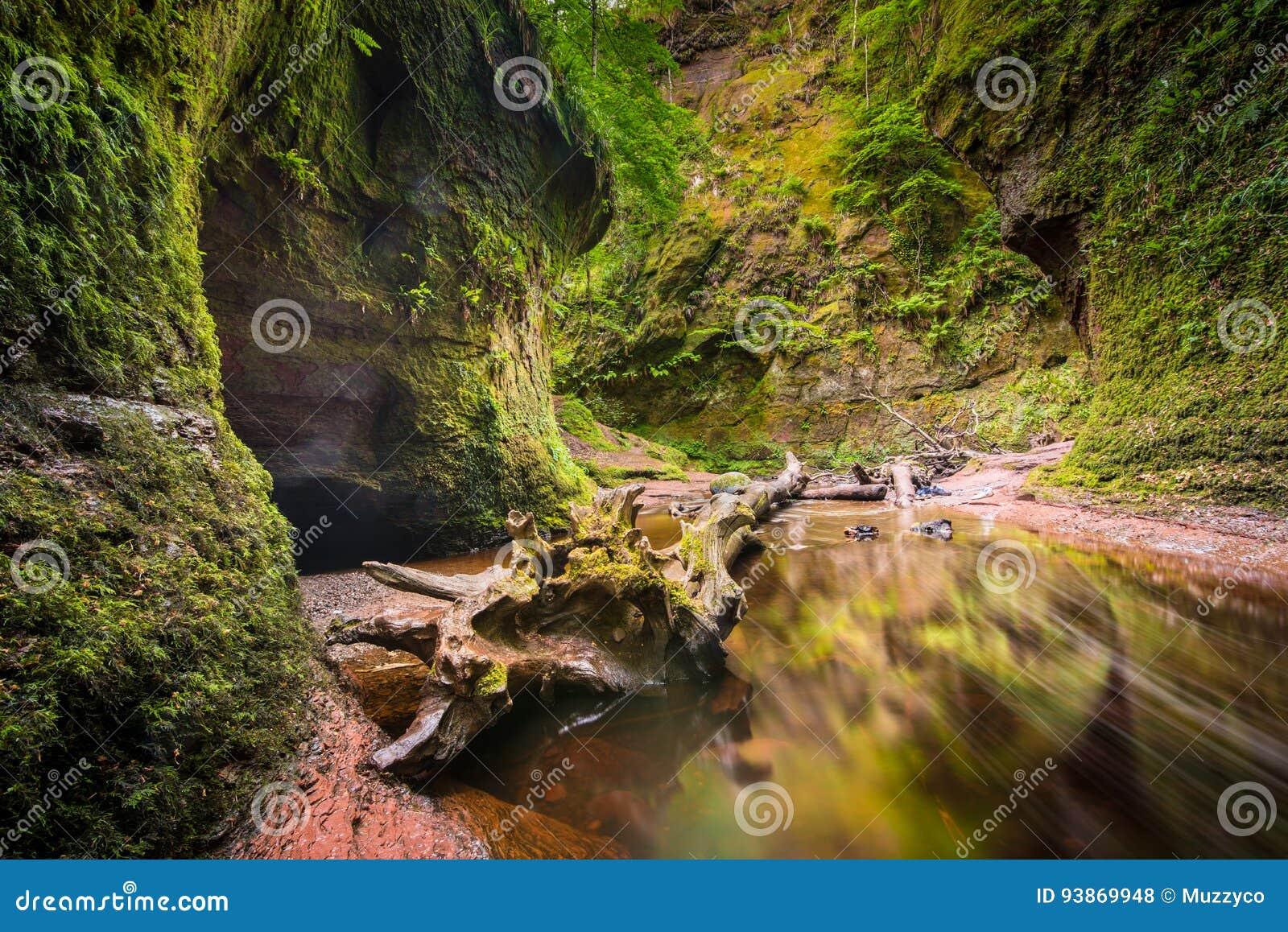 Glen Finnich in Schottland