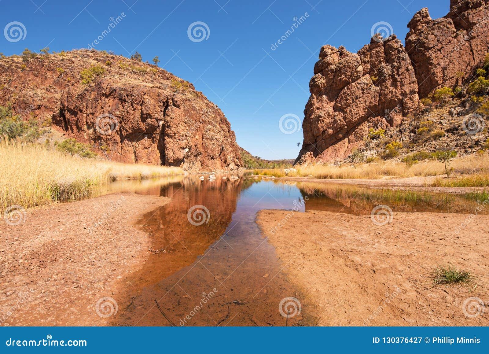 Glen Helen Gorge, Noordelijk Grondgebied, Australië
