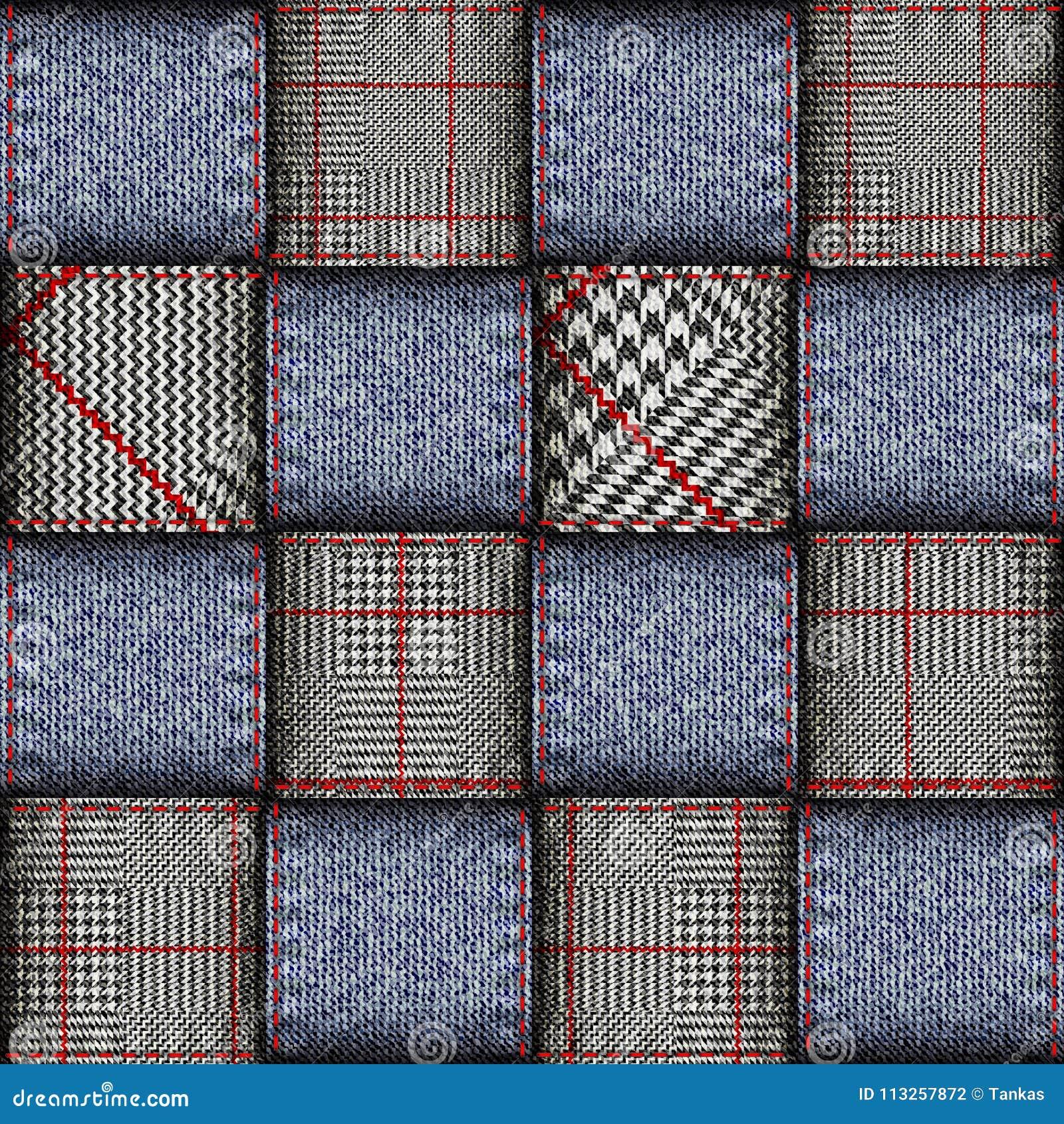 Glen Plaid pattern.