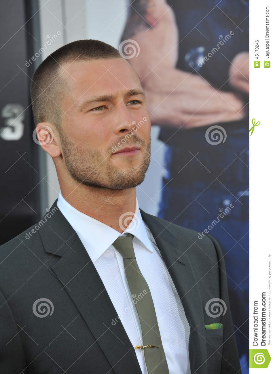 glen powell height