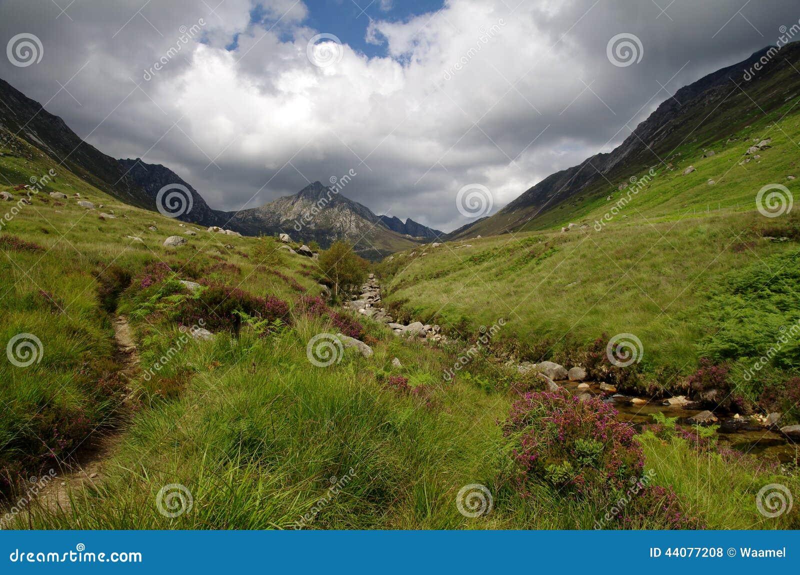 Glen Rosa på Arran, Skottland