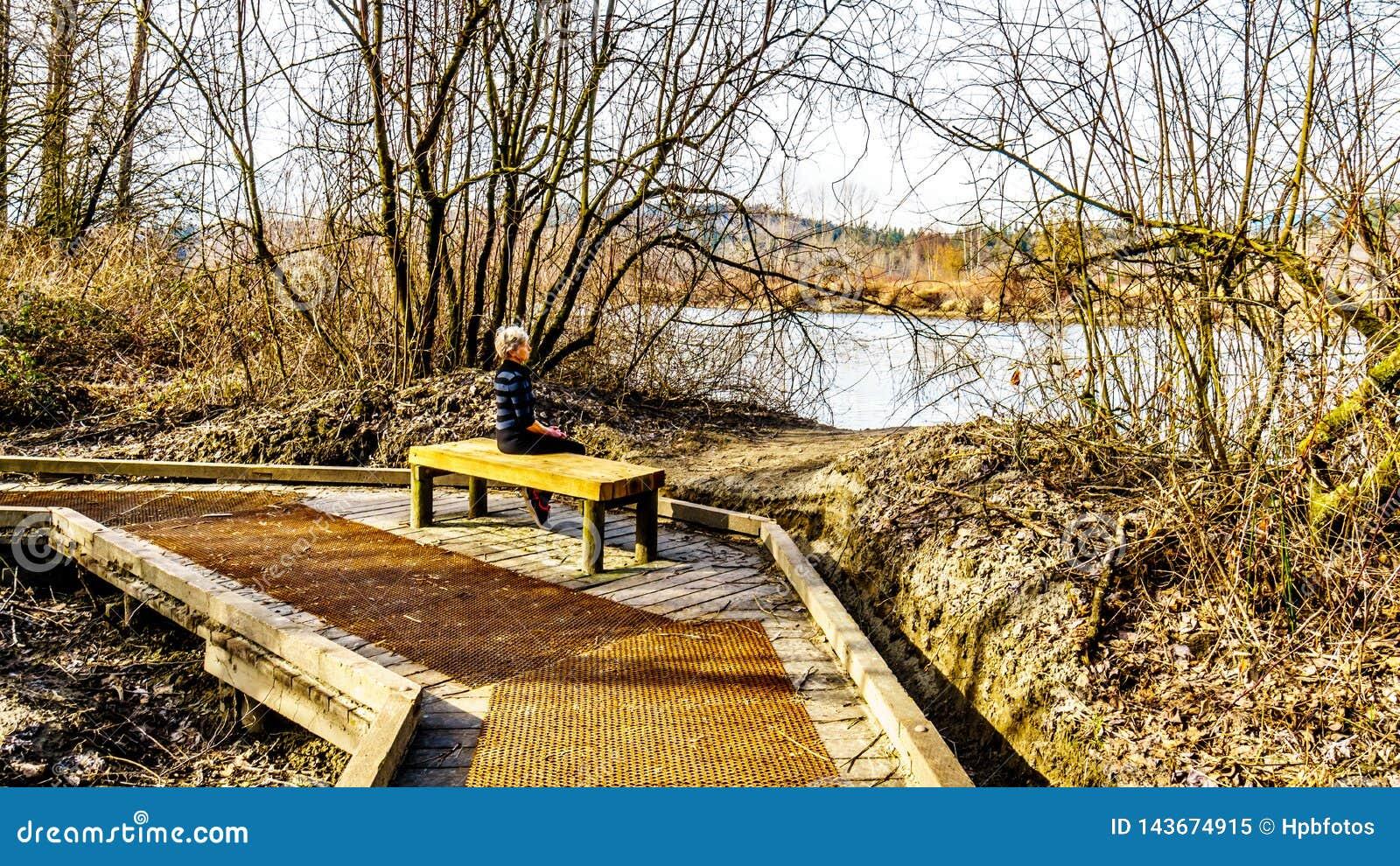 Glen Valley Regional Park, fuerte Langley, Columbia Británica, Canadá