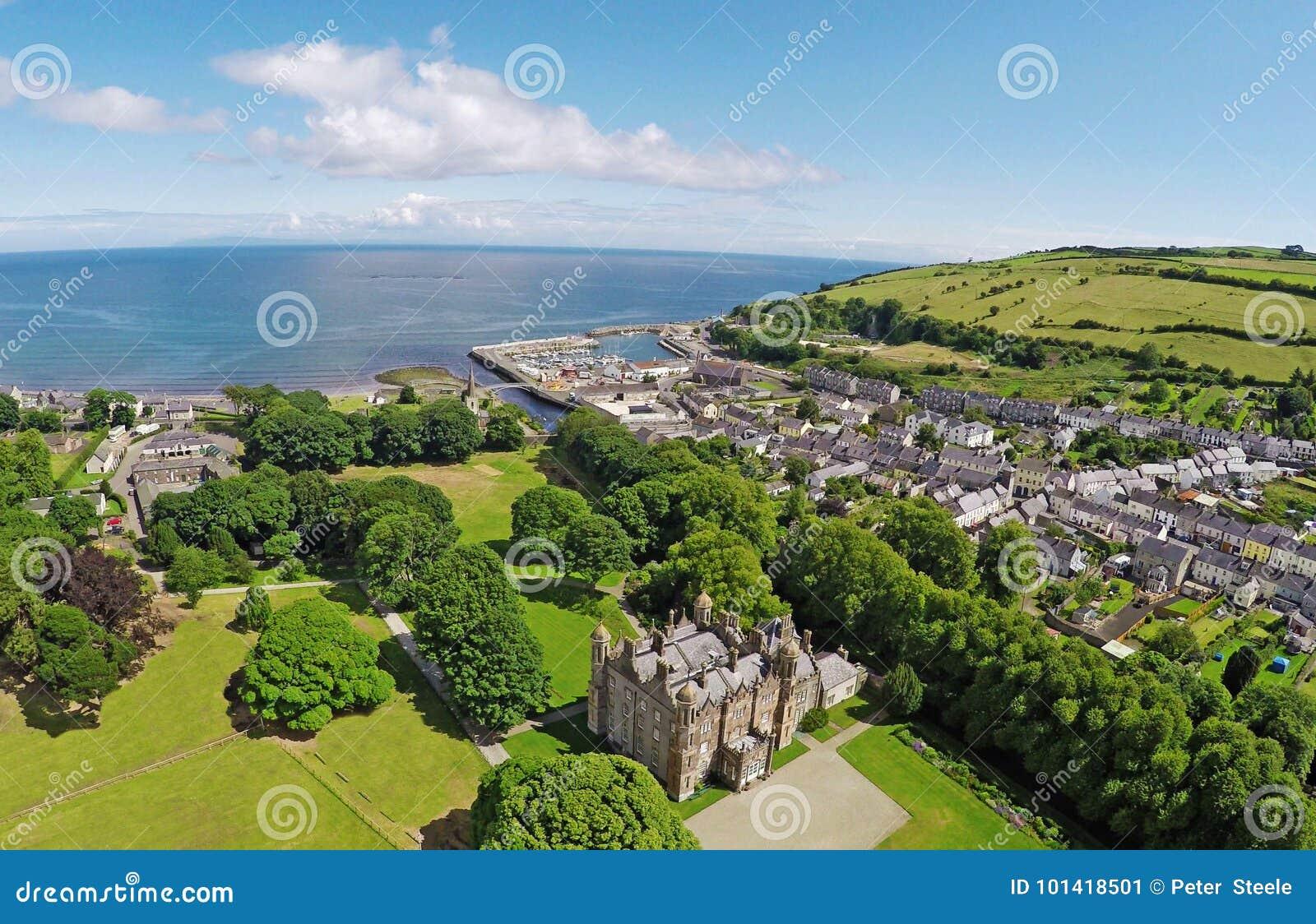 Glenarm Castle Co.Antrim Northern Ireland
