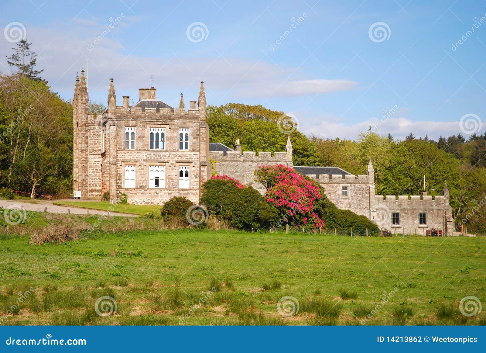 Glenbarr Abbey.