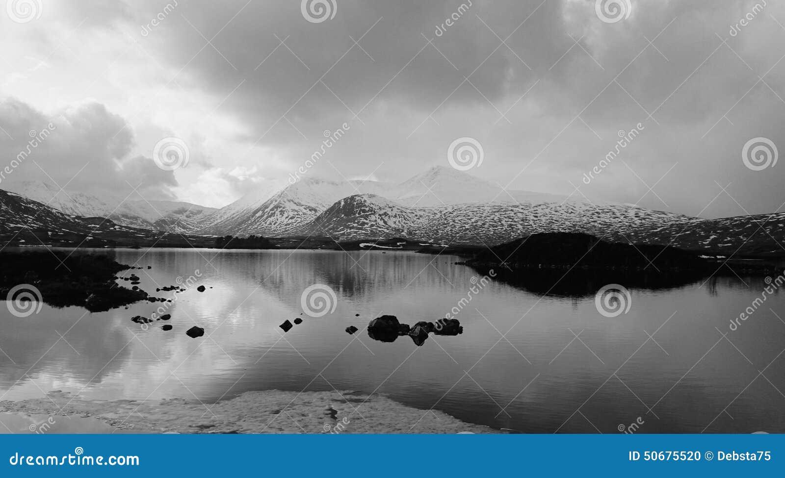 Download Glencoe山 库存照片. 图片 包括有 多雪, 海湾, 反射 - 50675520