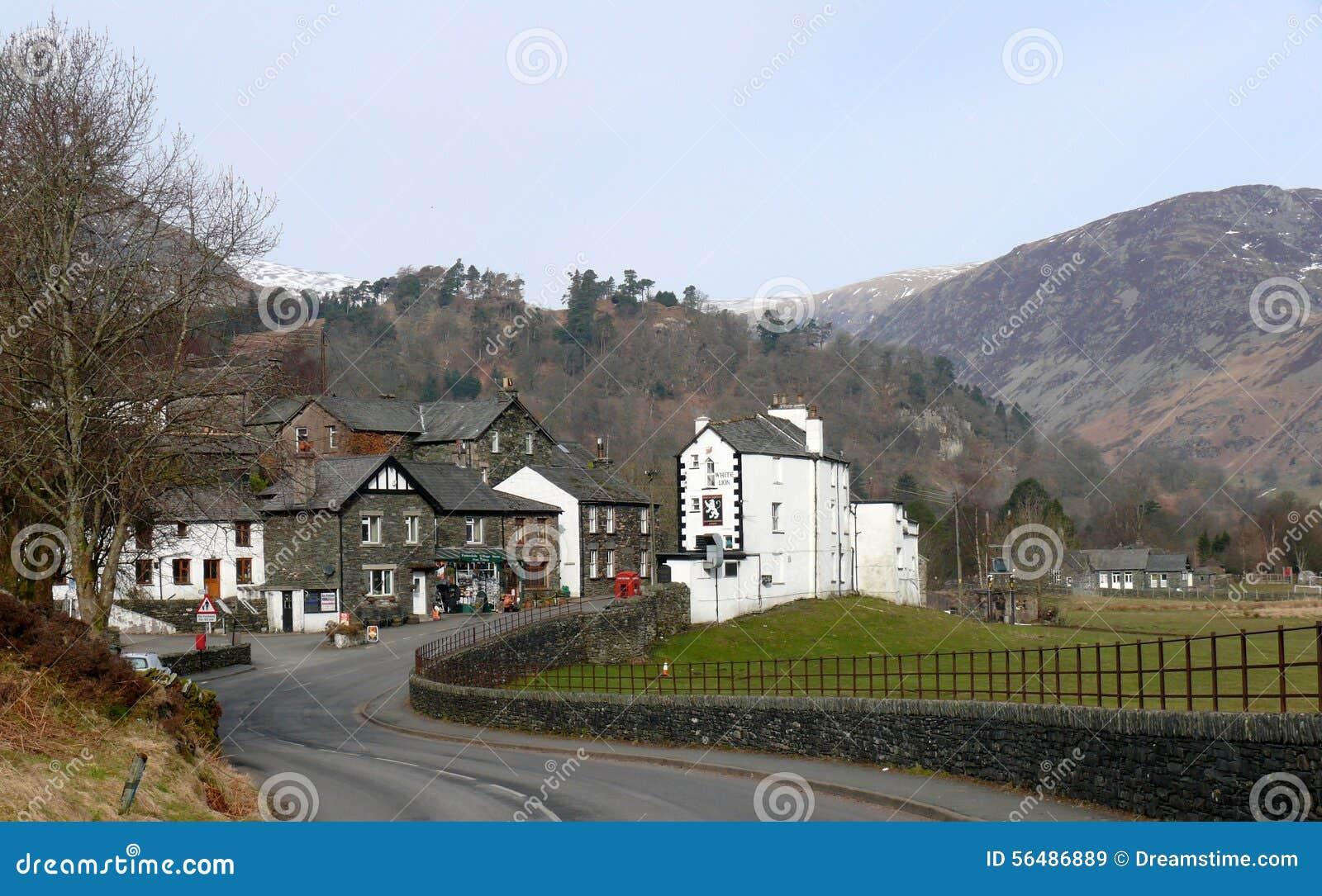 Glenridding au secteur de lac, Cumbria, Angleterre R-U