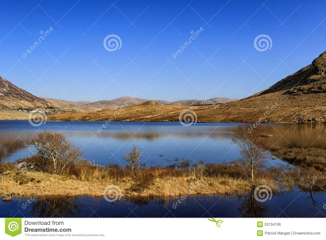 Glenveagh nationalpark, Co Donegal Irland