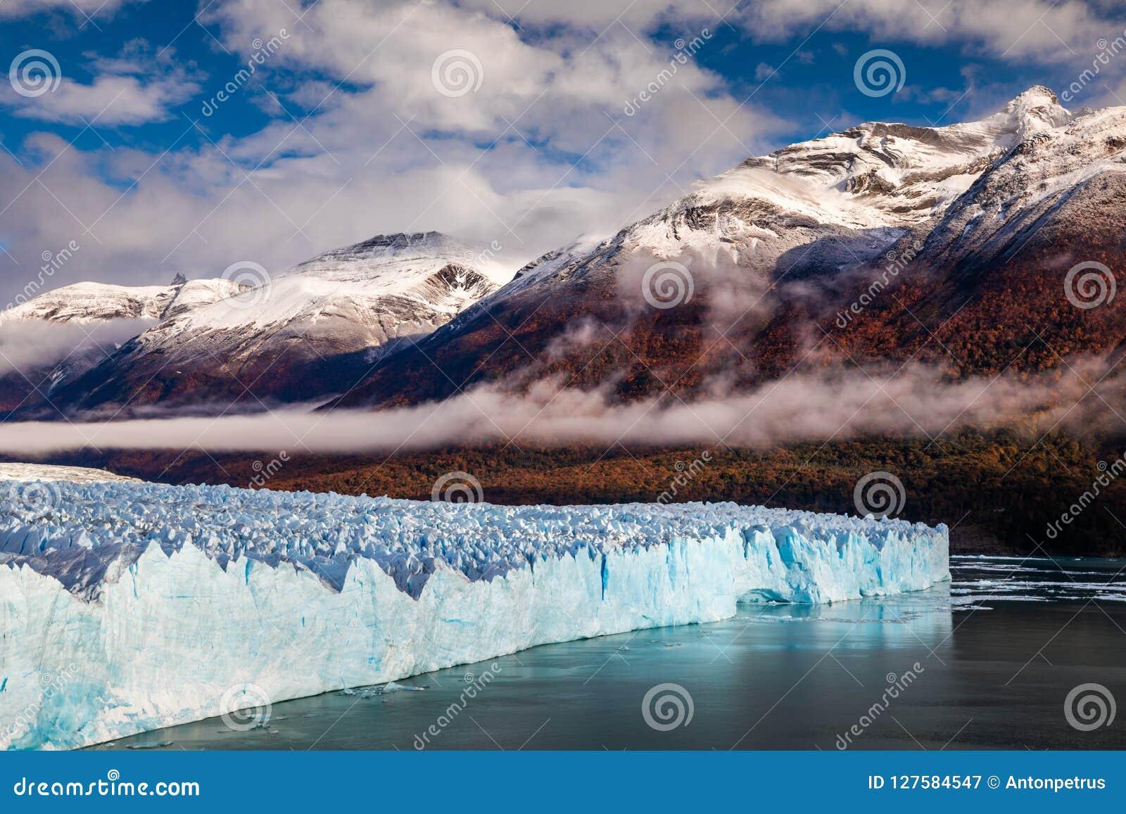 Gletscher Perito Moreno National Park im Herbst Argentinien, Patagonia