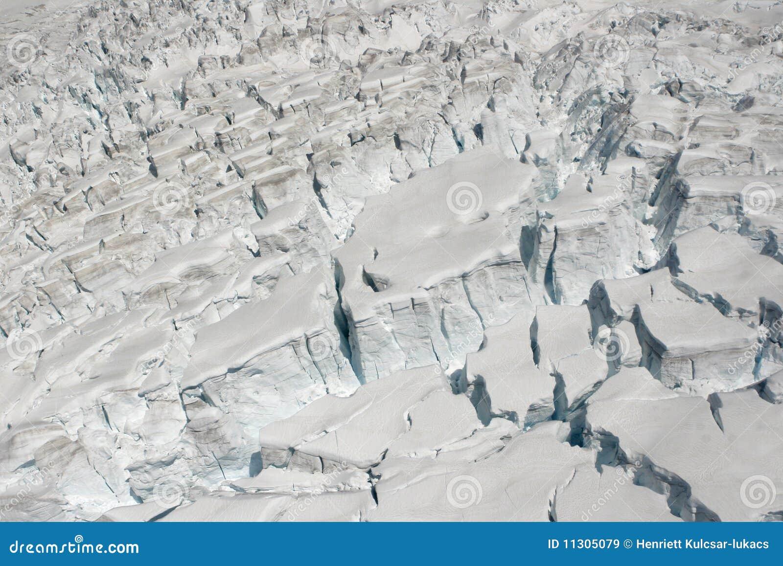 Gletschereisschnee