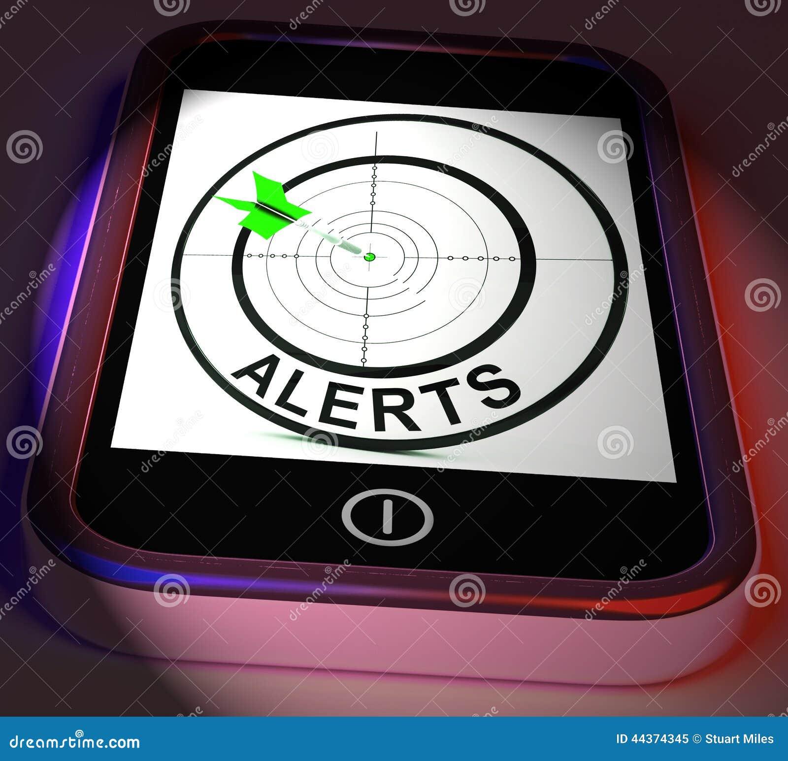 Gli allarmi Smartphone visualizza il ricordo o l allarme del telefono