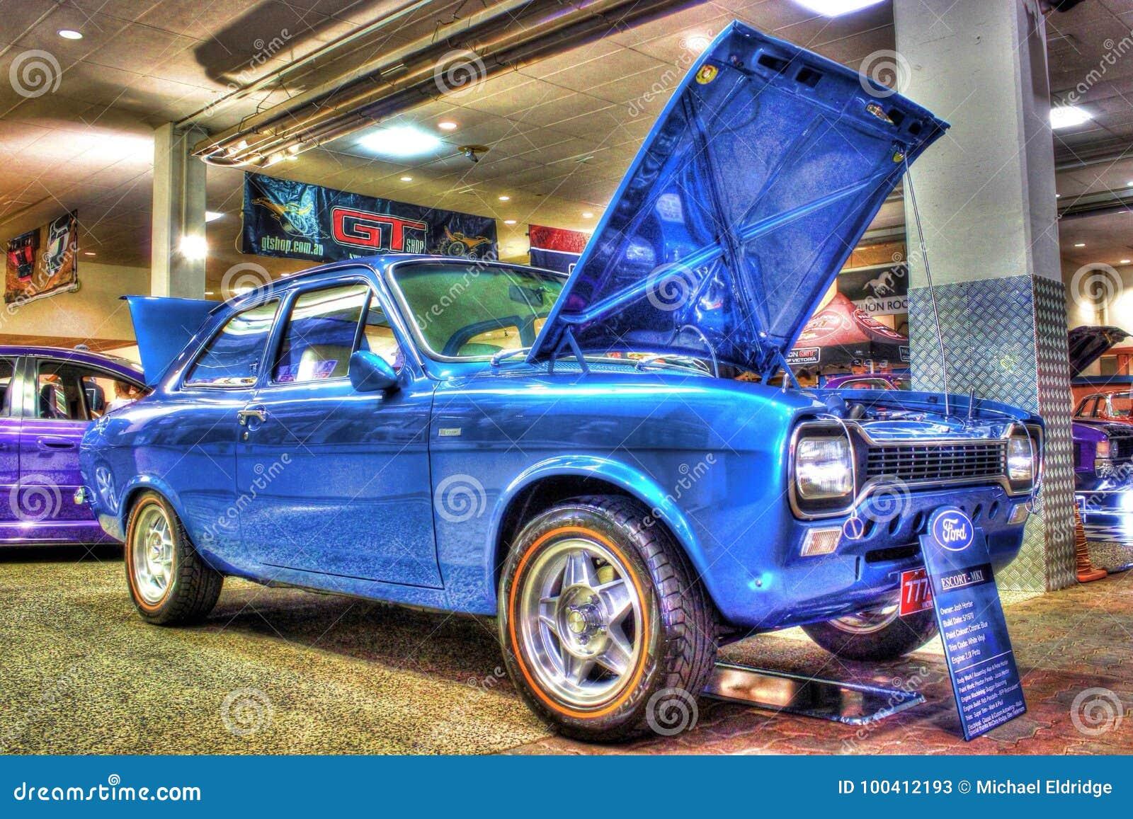Ford Escort Anni 70.Gli Anni 70 Classici Ford Escort Mk1 Fotografia Stock Editoriale