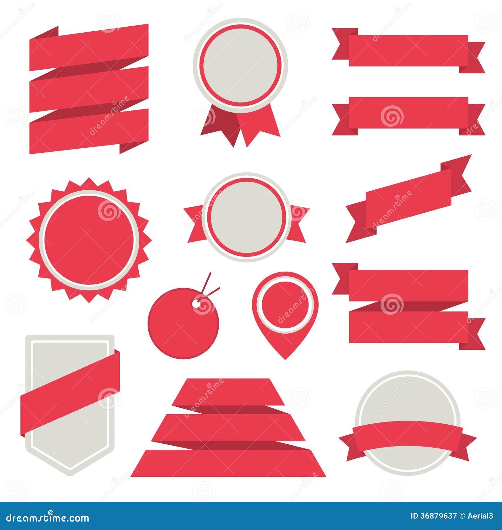 Download Gli Autoadesivi Ed I Distintivi Di Vettore Hanno Fissato Lo Stile Piano 3. Illustrazione Vettoriale - Illustrazione di soldi, icona: 36879637