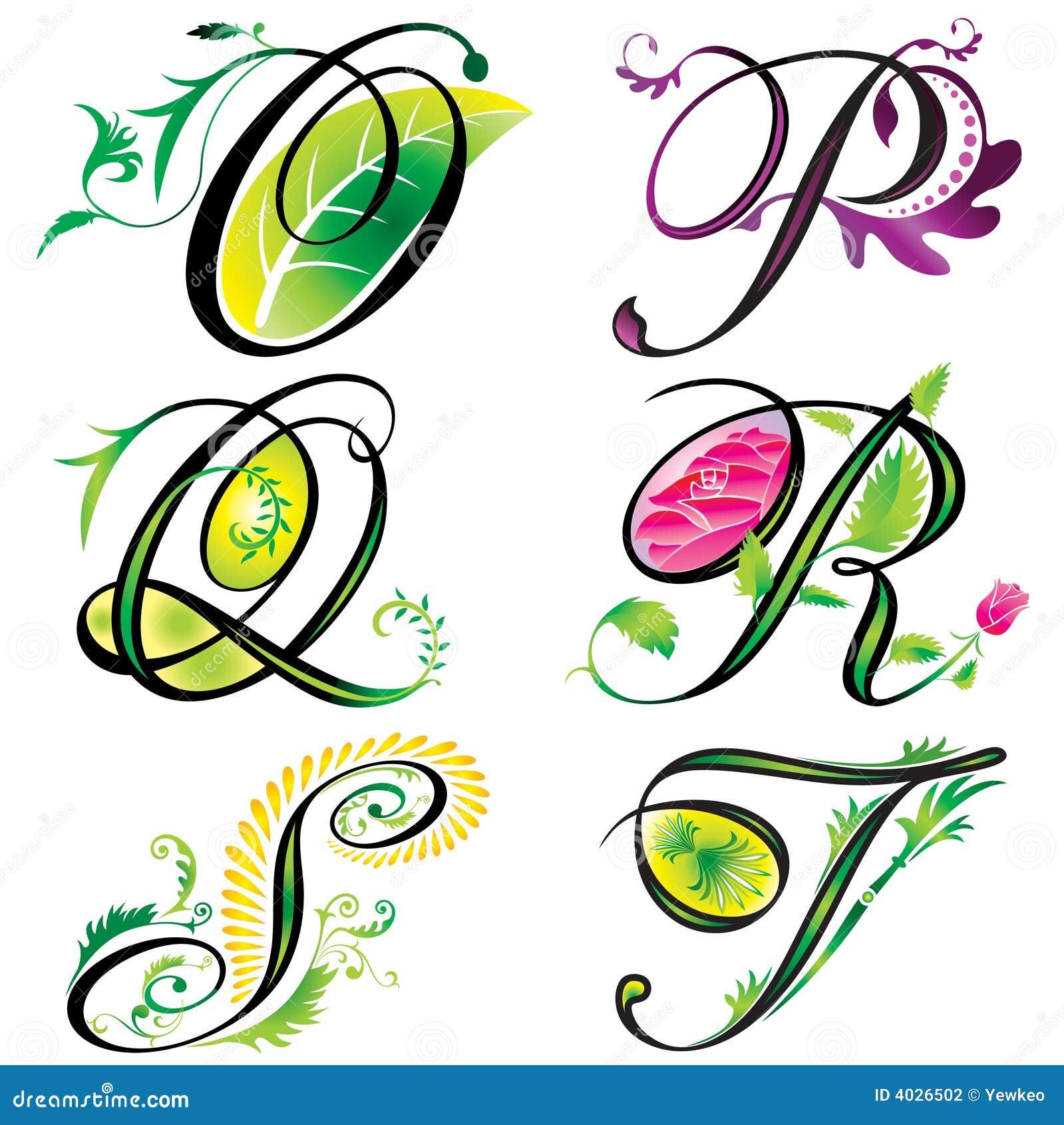 Gli elementi di alfabeti progettano - la s