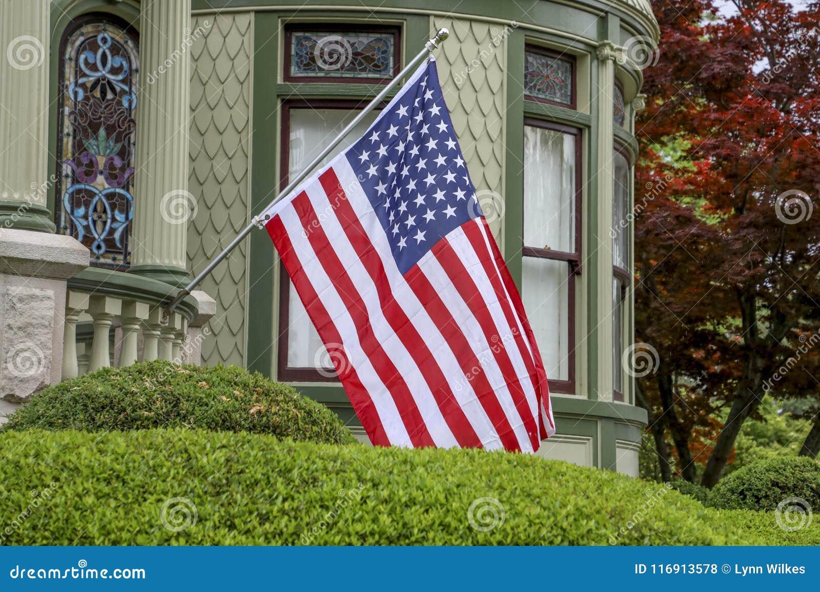 Gli Stati Uniti diminuiscono sulla casa vittoriana