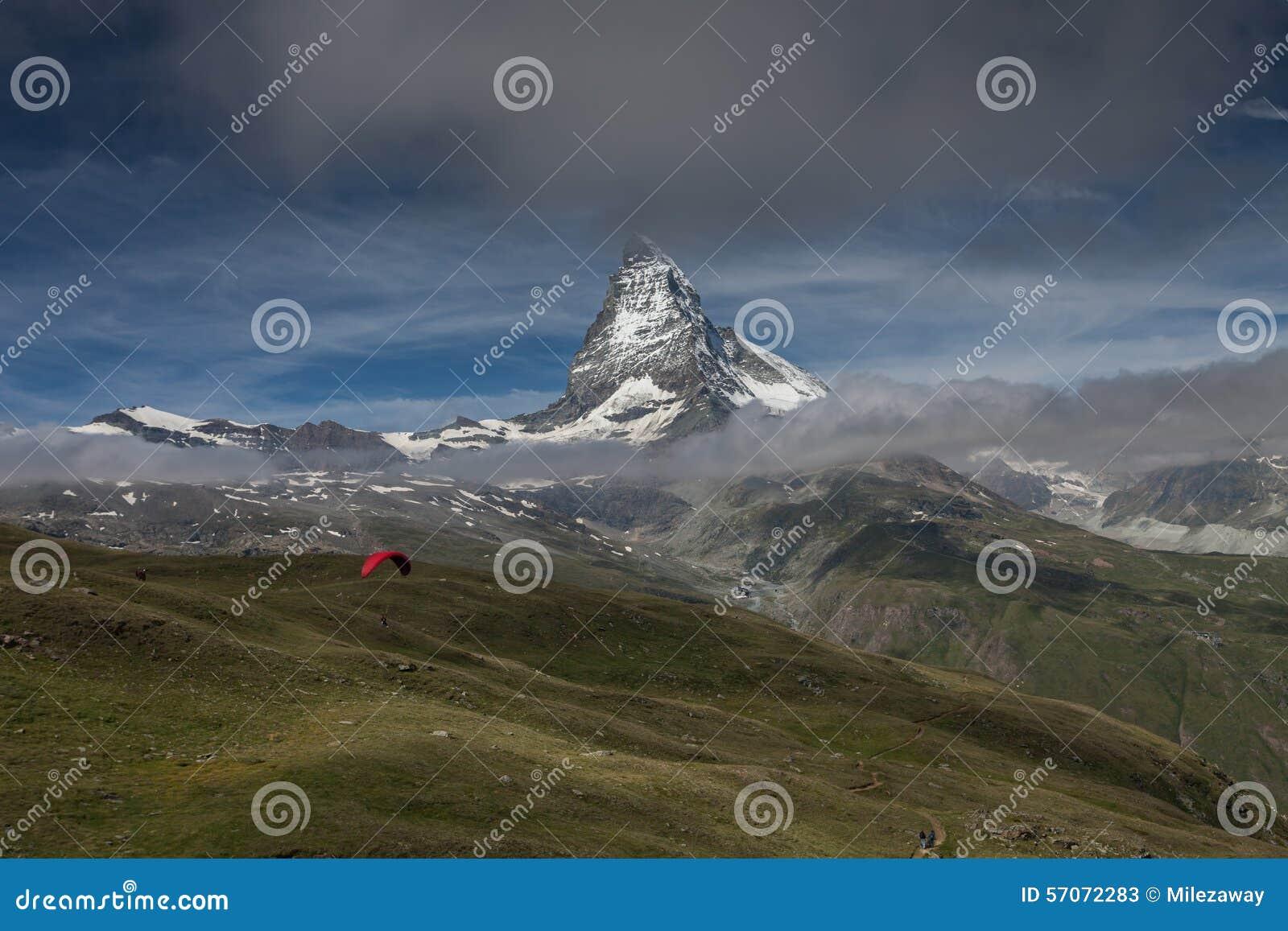 Glijscherm en Matterhorn