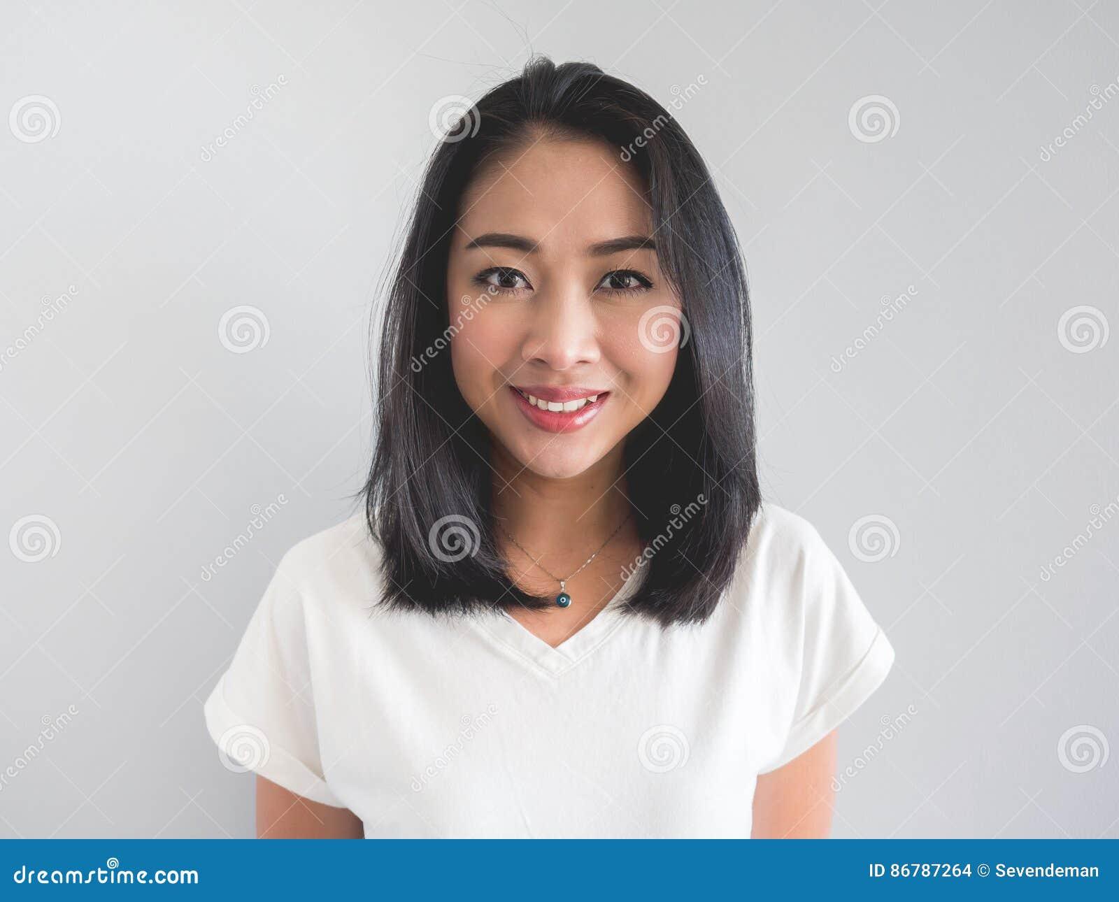 Glimlach Aziatische vrouw