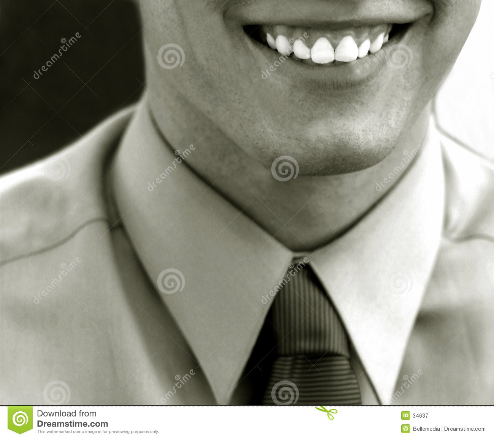 Glimlach van succes