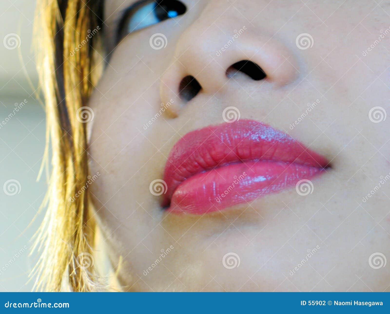 Glimlachende Lippen