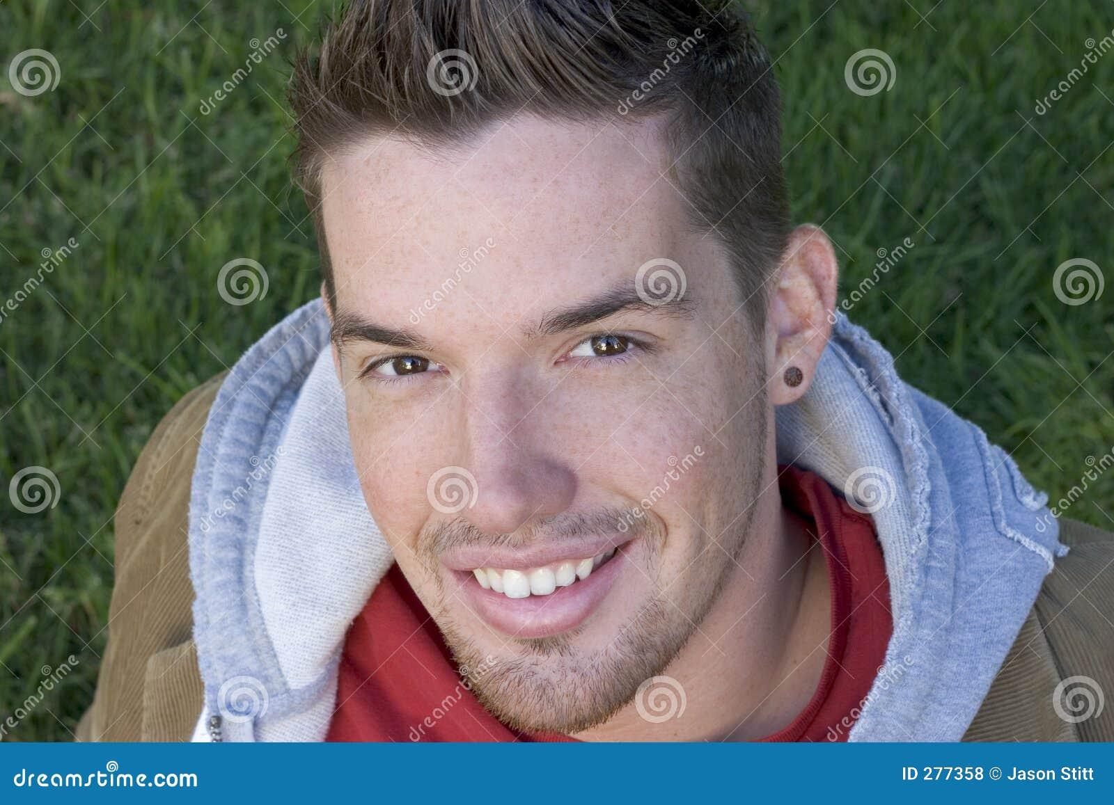 Glimlachende Mens