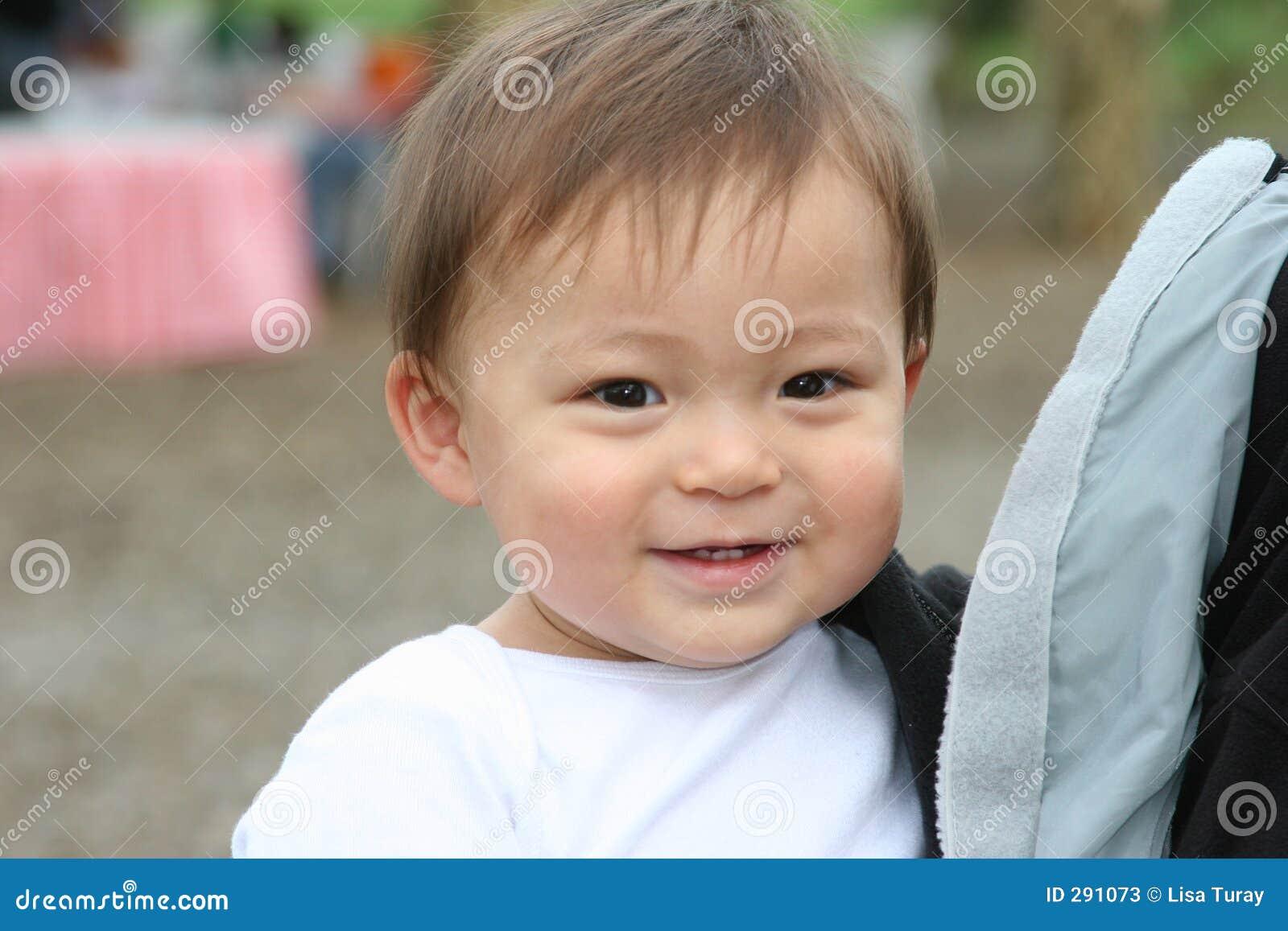 Glimlachende Peuter