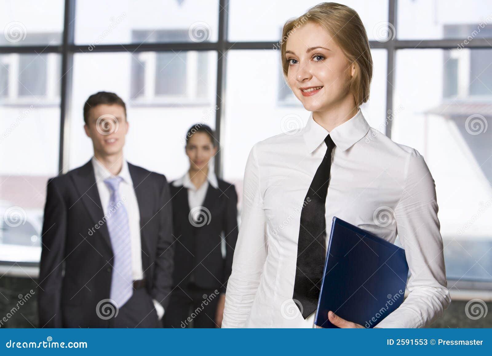 Glimlachende student