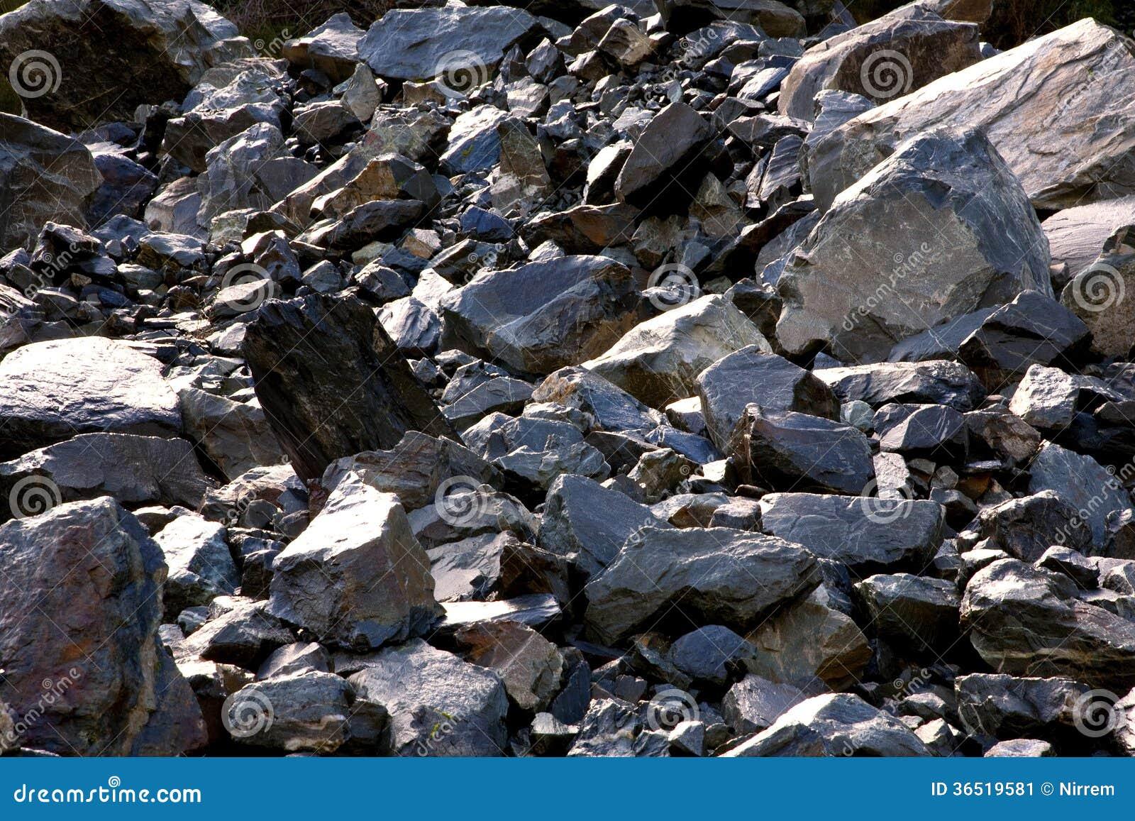 Glissière de roche