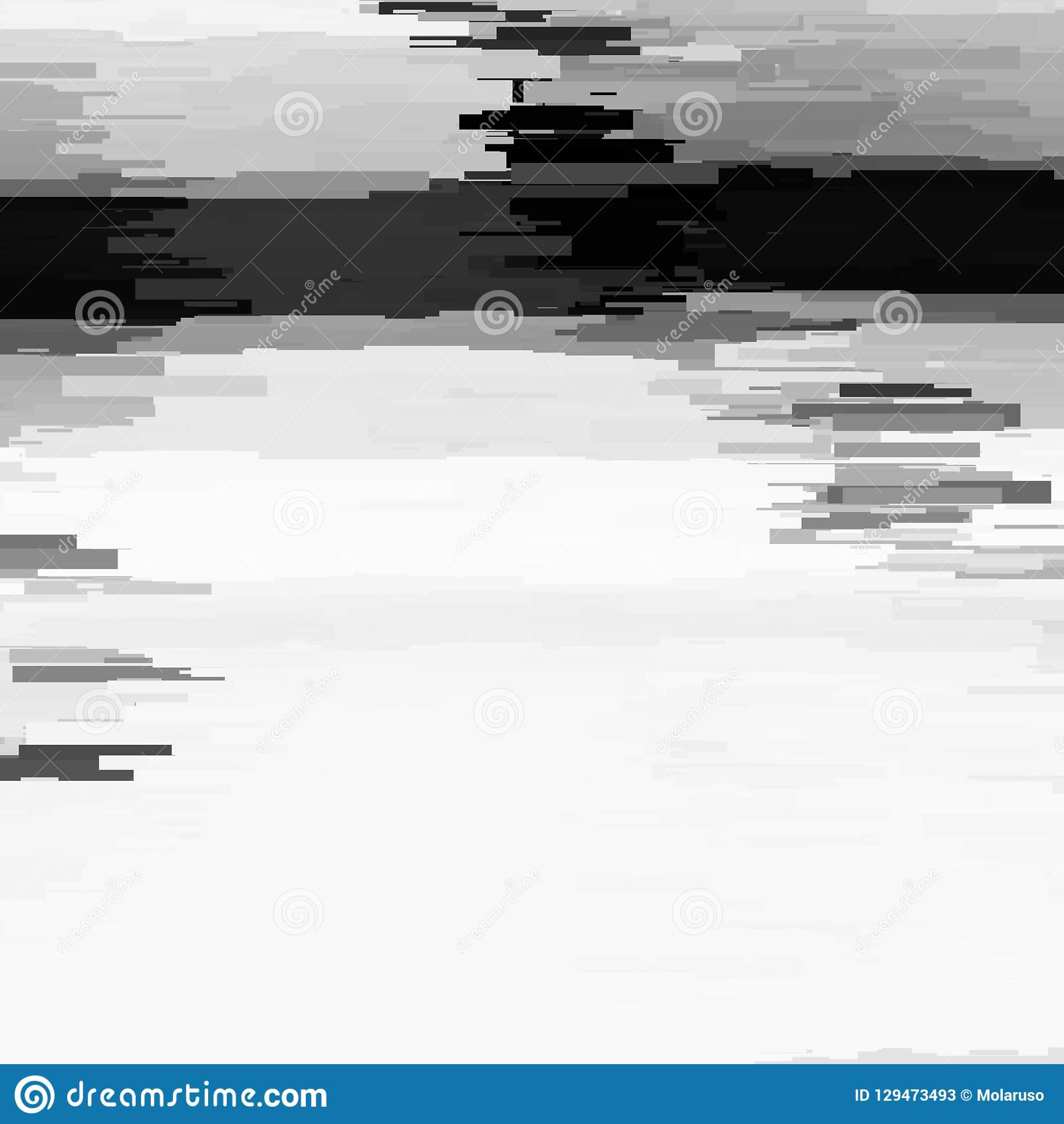 Glitch Abstract Background Stock Vector. Illustration Of
