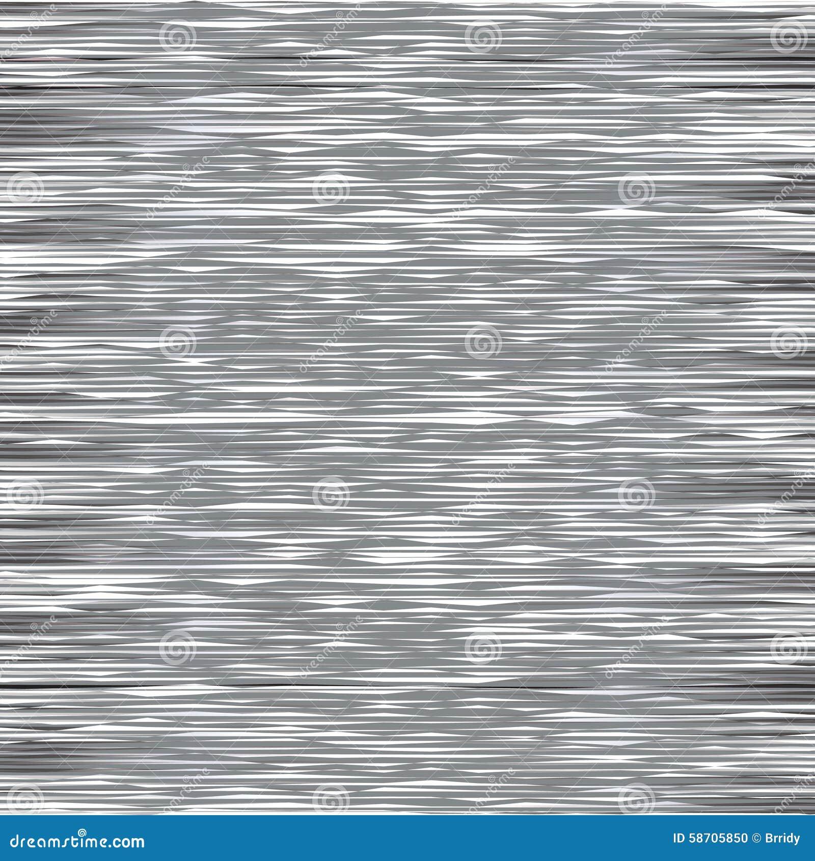 Glitch on TV Screen