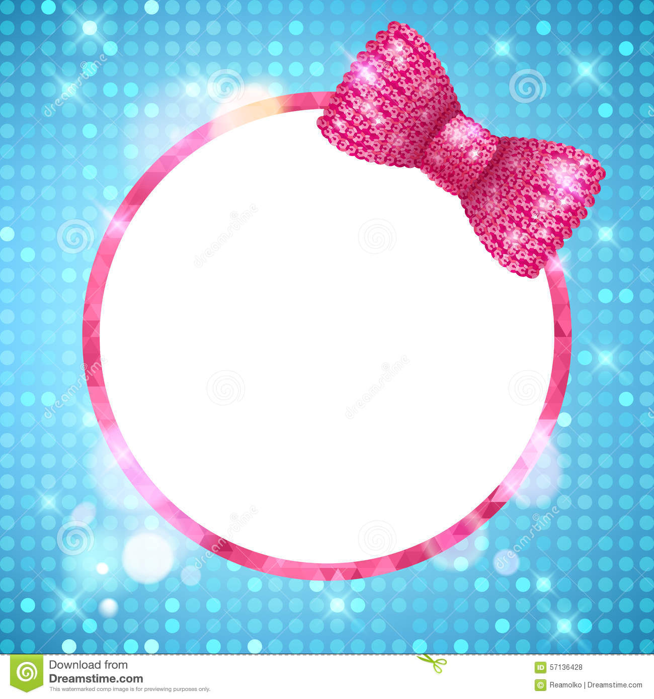 glitter sparkle frame border royaltyfree stock photo