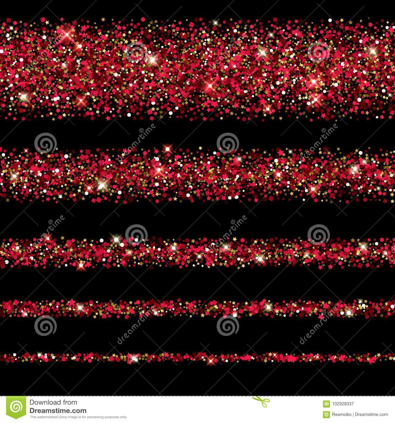 glitter glow magic dust background new year and christmas design
