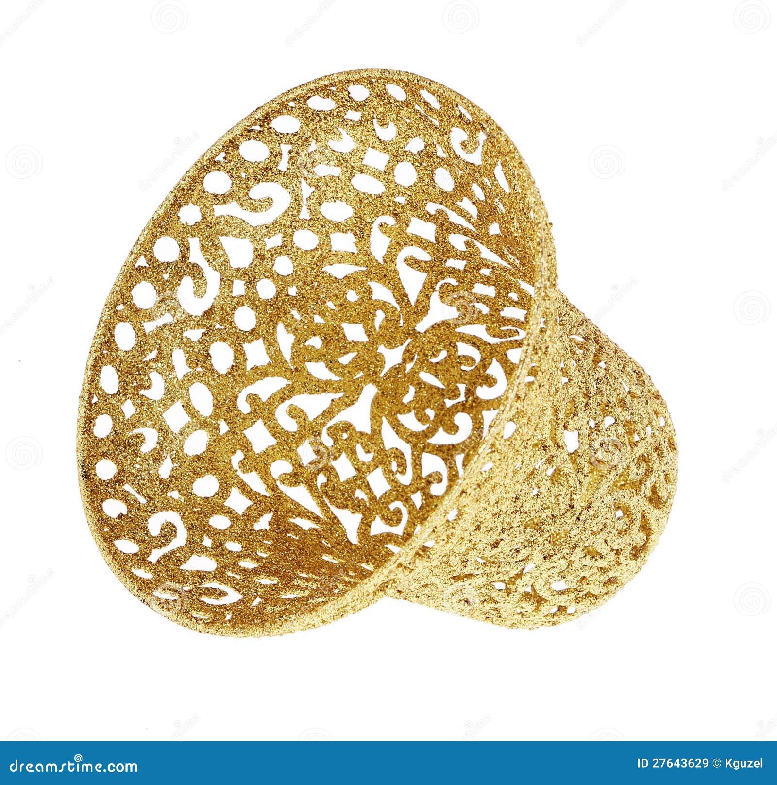 Gold Glitter Object Stock Illustration
