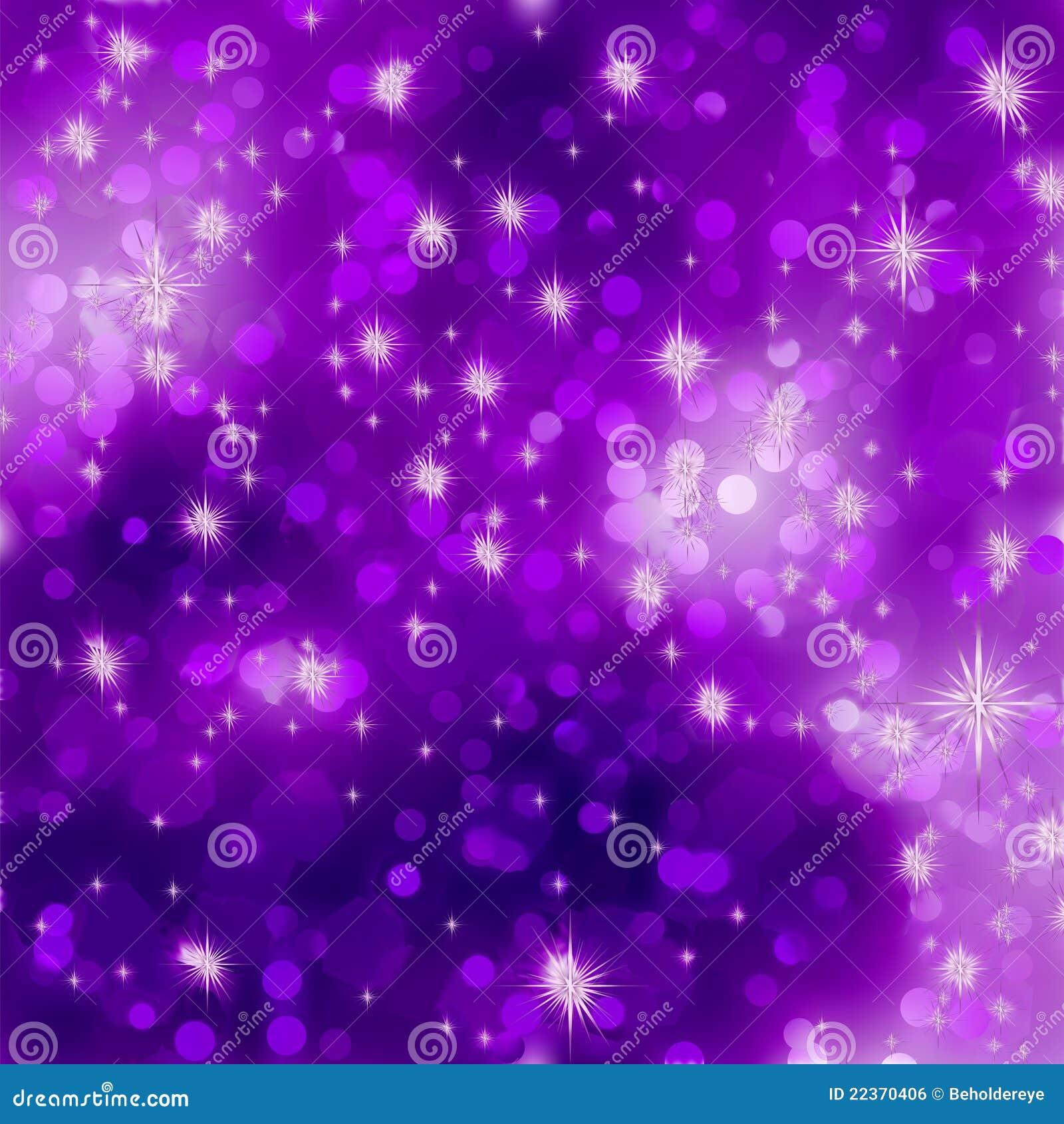 Glittery Purple Christmas Background. EPS 8 Royalty Free Stock ...