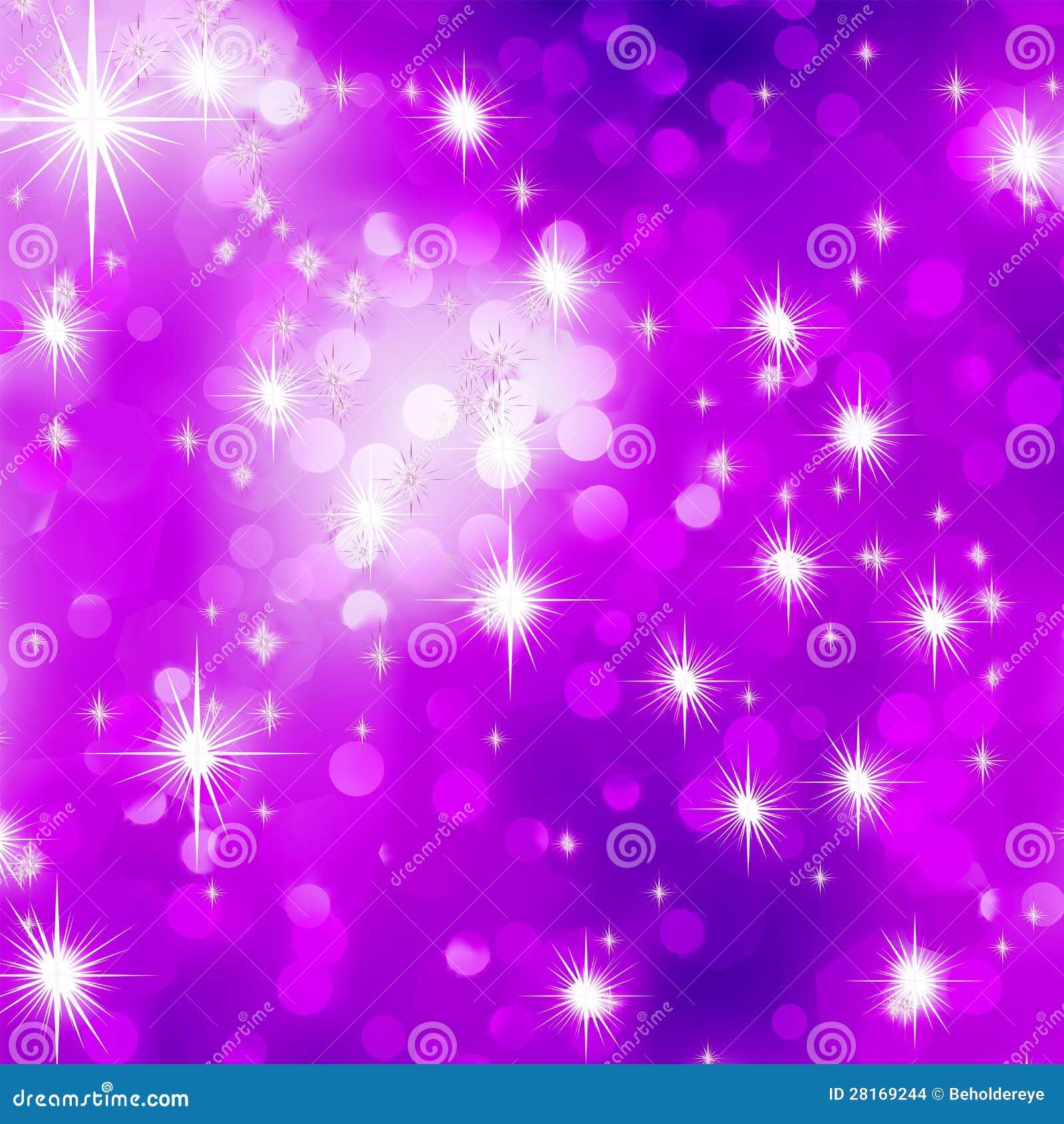Glittery Purple Christmas Background. EPS 8 Stock Images - Image ...