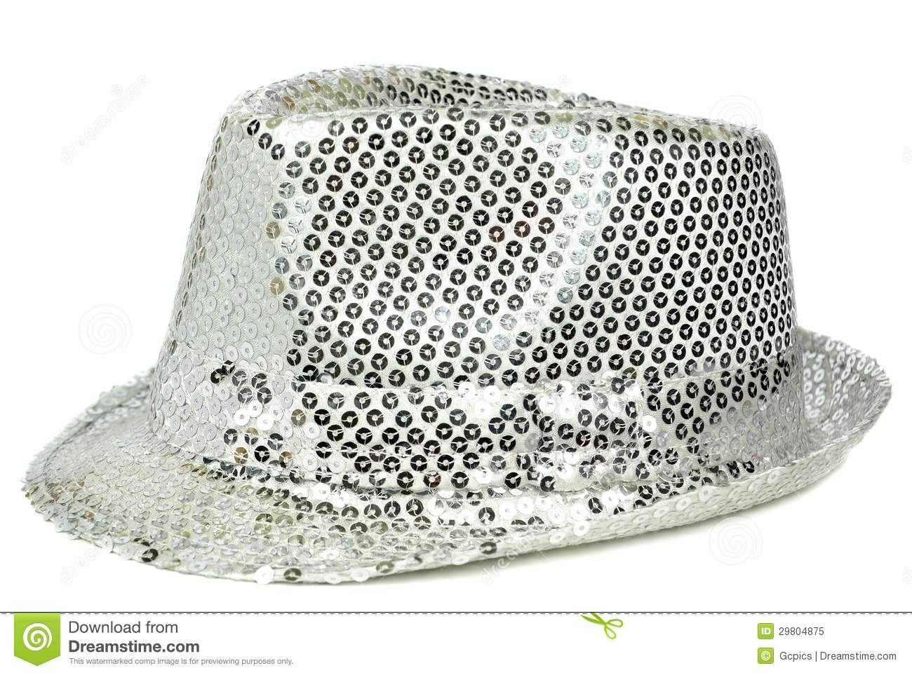 A silver sequin party hat stock image. Image of sequin - 29804875 bc3b39e48bc