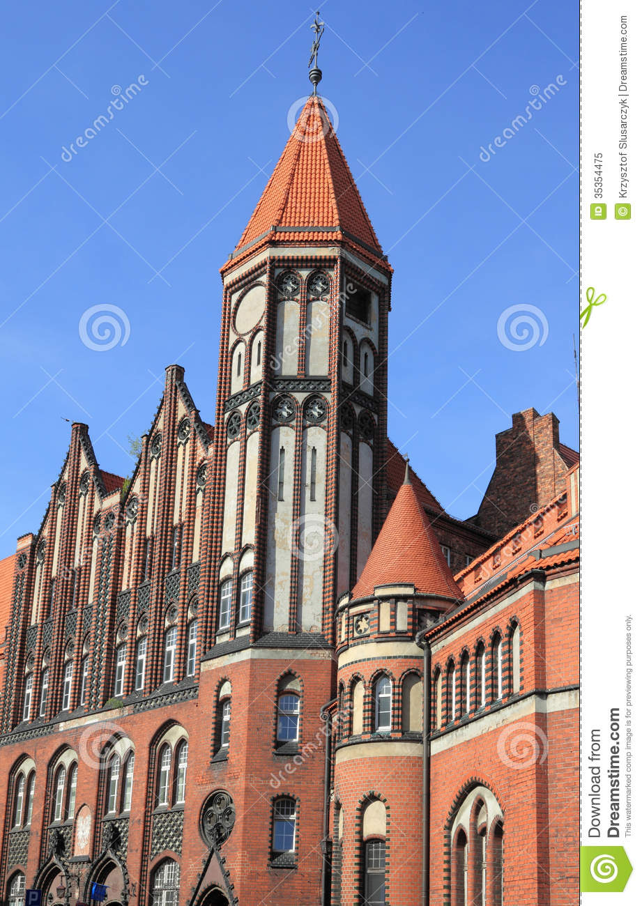 Gliwice Poland  City pictures : Gliwice, Poland. Royalty Free Stock Photo Image: 35354475