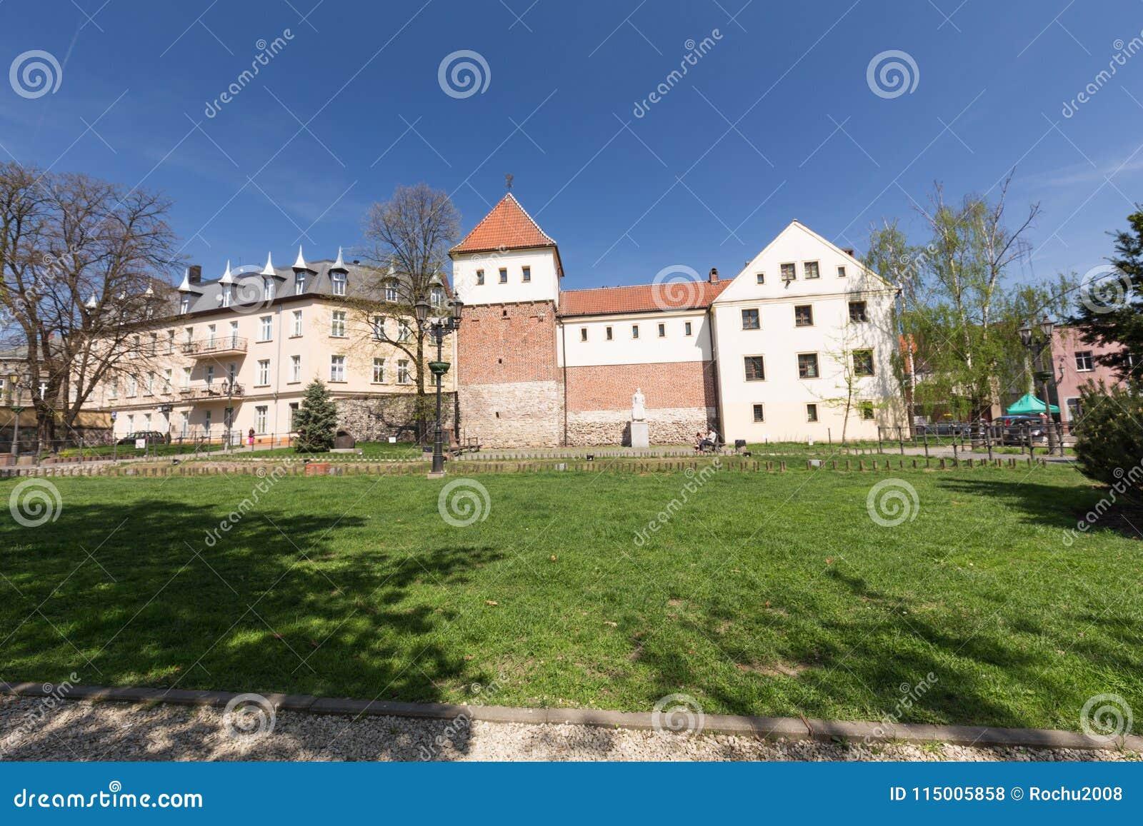 Gliwice/vista del cuadrado de ciudad