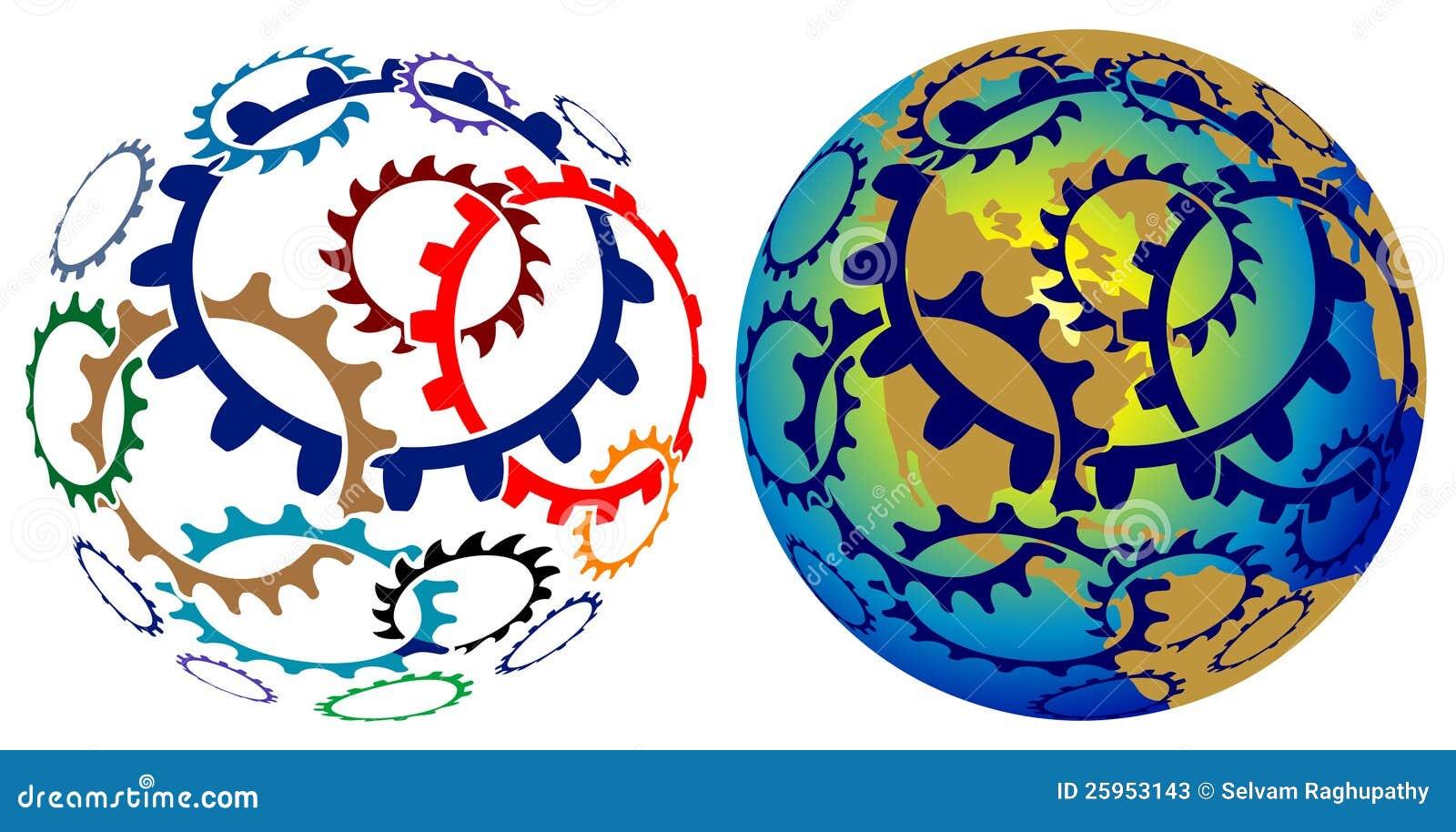 Glob колес шестерни