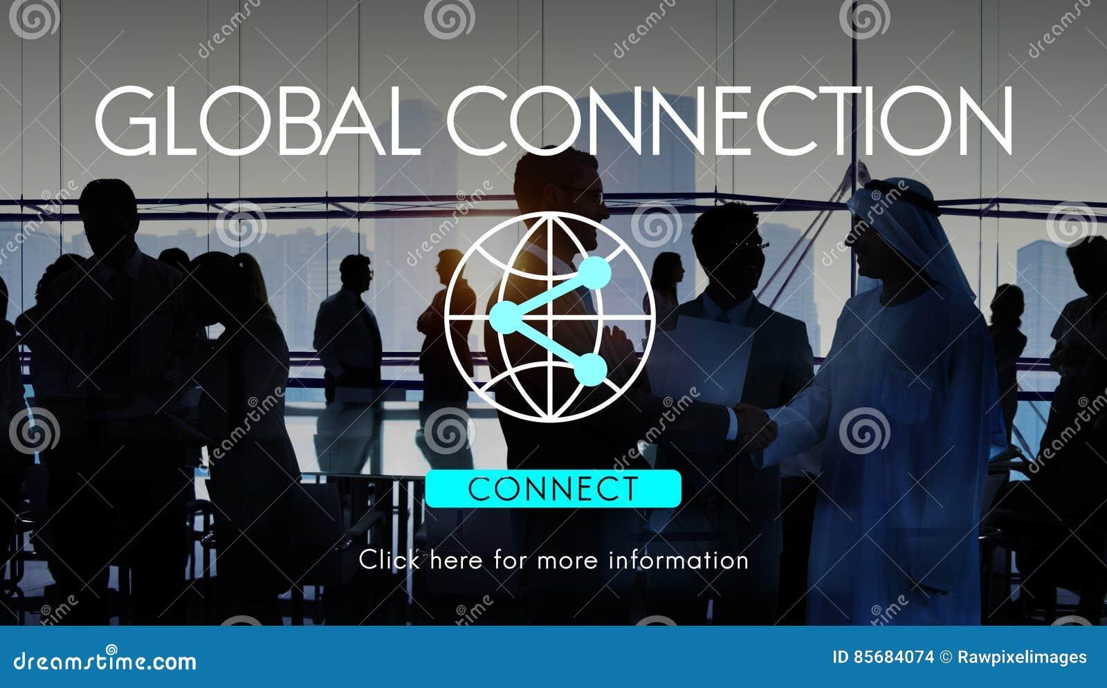 Globaal de Technologieconcept van Verbindings Toegankelijk Internet