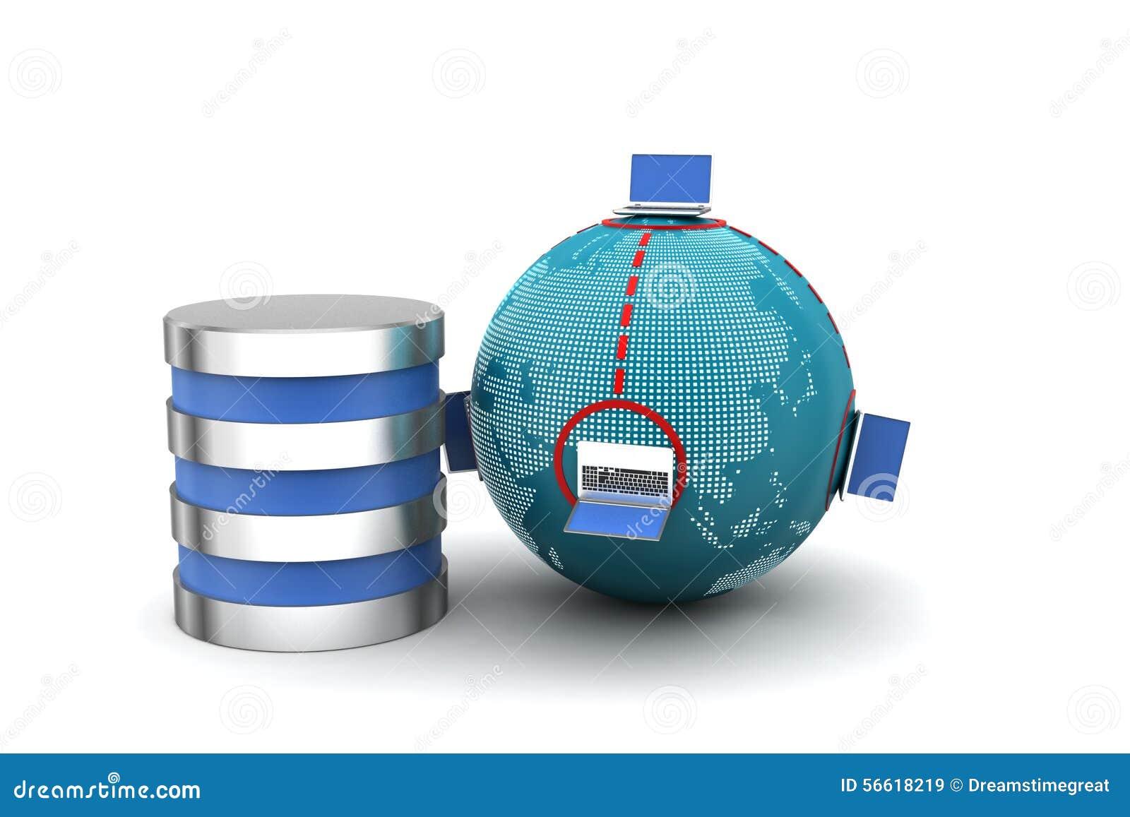 Globaal voorzien van een netwerkconcept stock illustratie afbeelding 56618219 - Een wasruimte voorzien ...