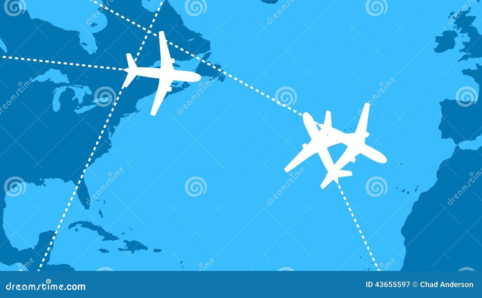Global air travel looping animation stock video video of nobody global air travel looping animation stock video video of nobody boeing 43655597 gumiabroncs Choice Image