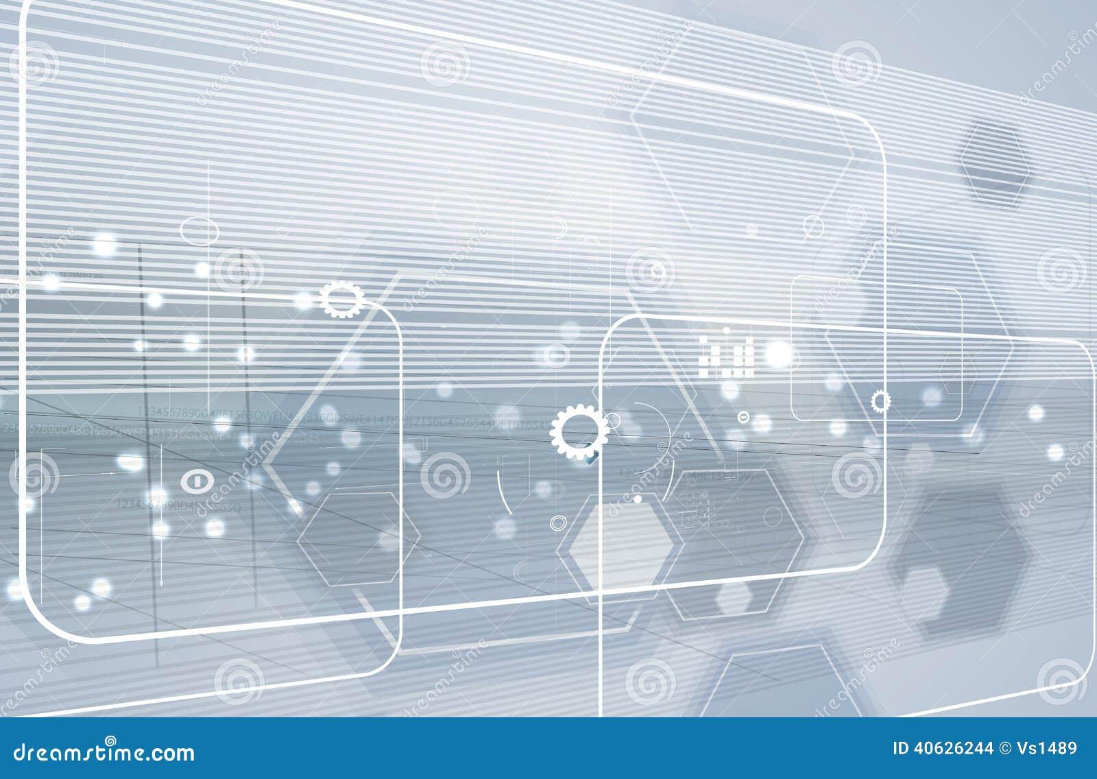 Global bakgrund för affär för oändlighetsdatateknikbegrepp