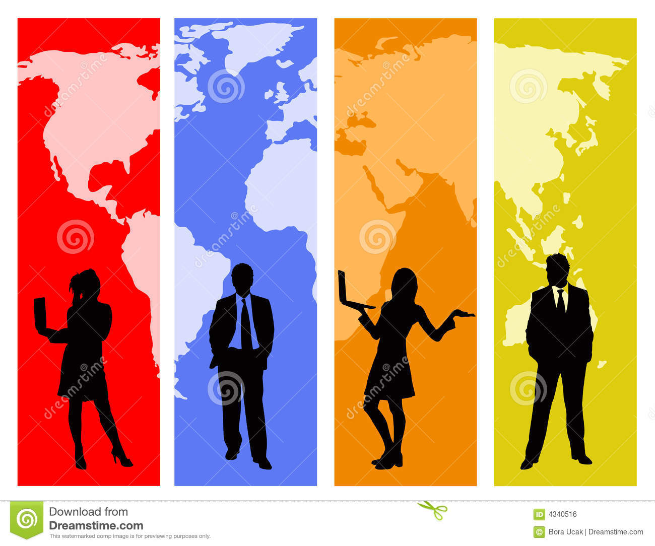 Global business stock vector illustration of globe silhouette download global business stock vector illustration of globe silhouette 4340516 gumiabroncs Images