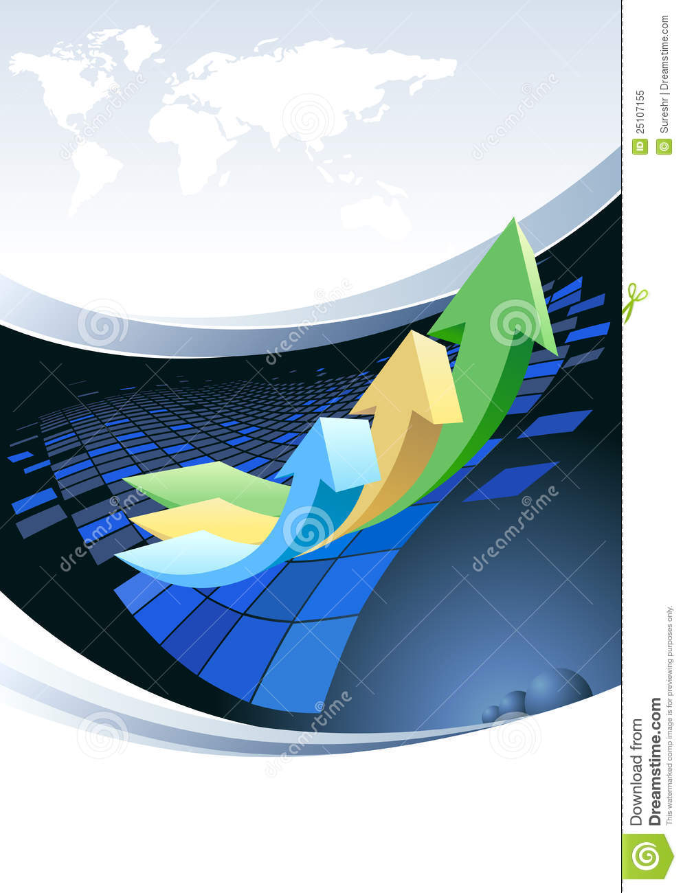 Global business brochure design royalty free stock photo for Global design company
