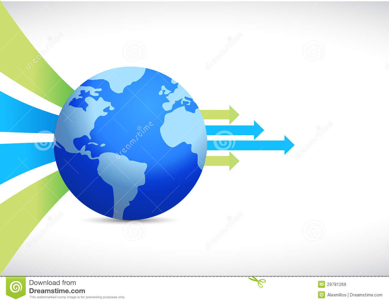 Global business design earth globe royalty free stock for Global design company