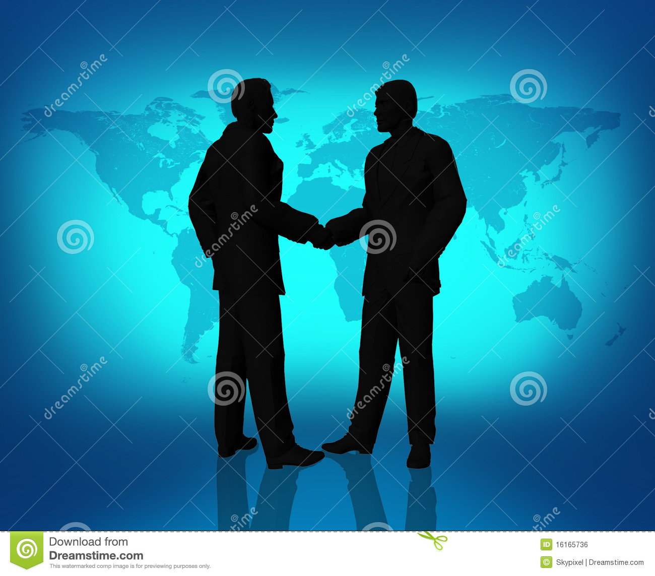 Global Business People Agreement Royalty Free Stock Image