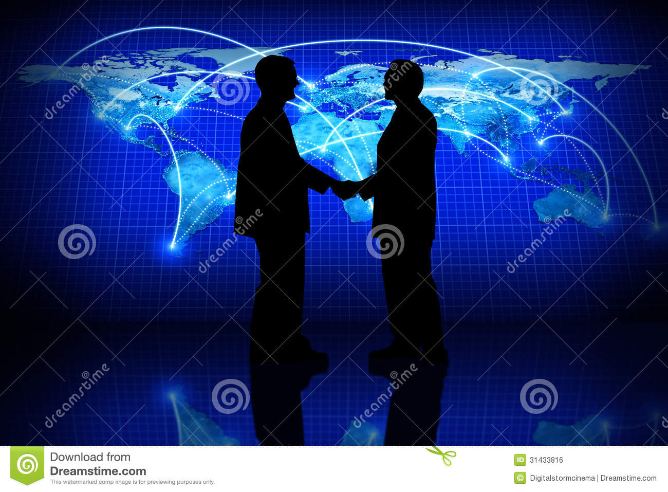 Global Business Royalty Free Stock Image - Image: 31433816