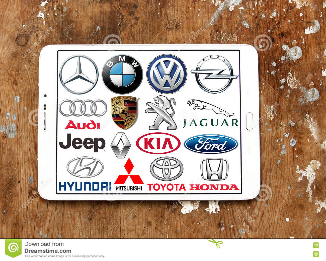 Global Car Brands And Logos Editorial Stock Image Image Of Battle
