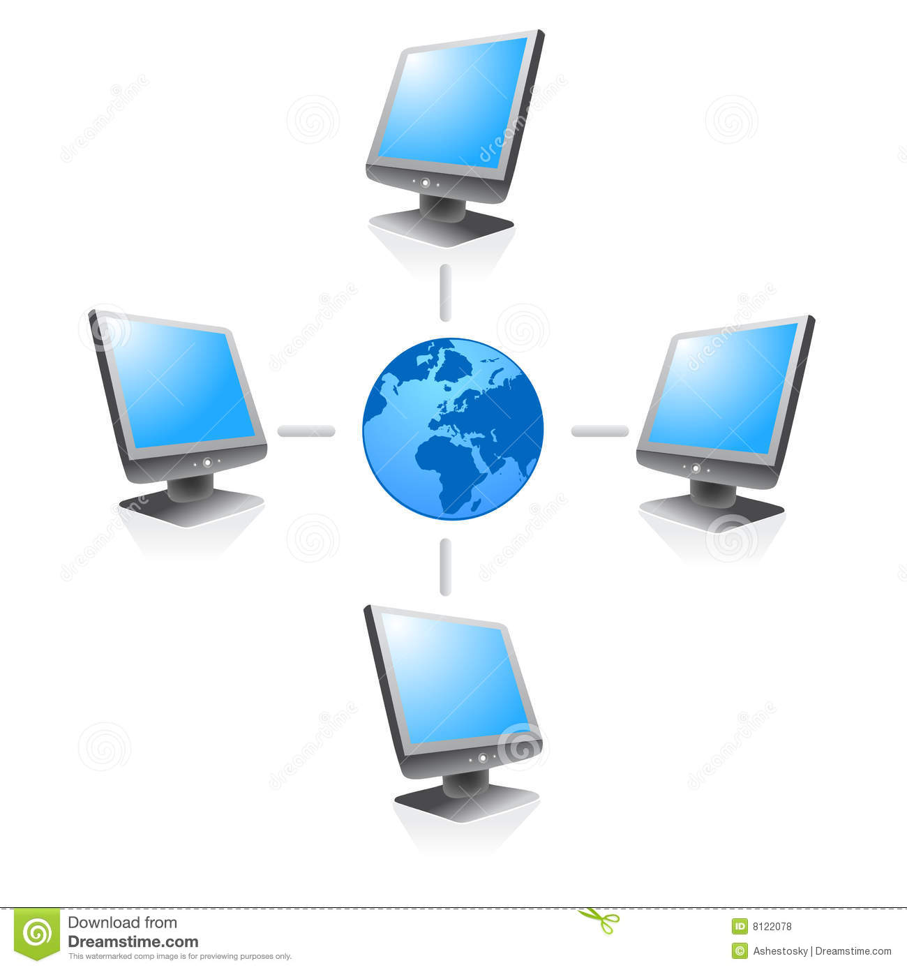 how to connect website to internet